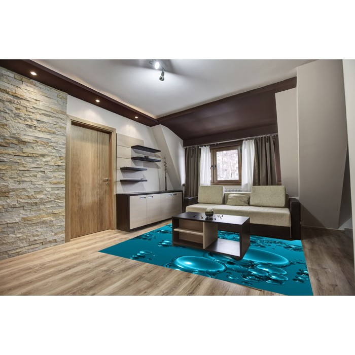 bodenaufkleber 3d tropfen 170 x 170 cm dimex. Black Bedroom Furniture Sets. Home Design Ideas