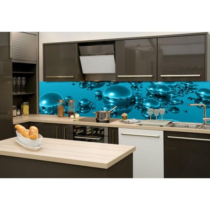 Küchenrückwand Glas - Tropfen   dimex-line.de