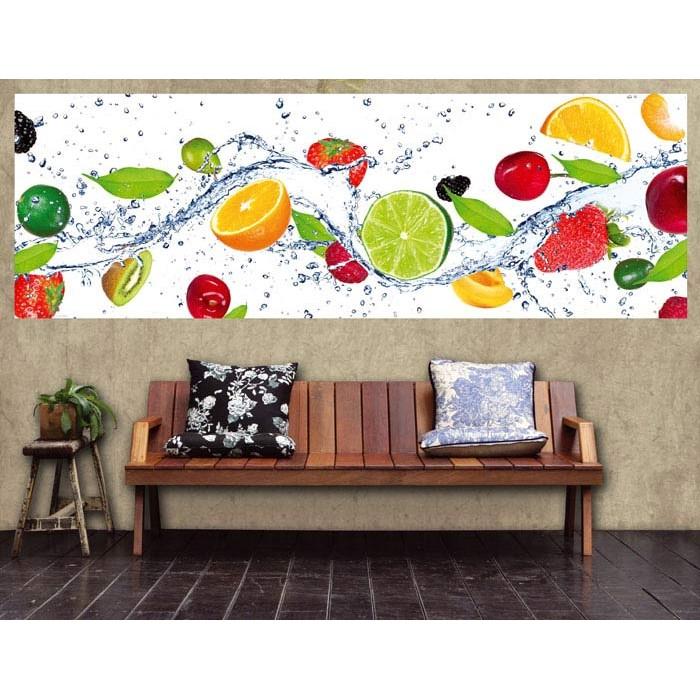 Vlies Fototapete - Obst 330 x 110 cm | dimex-line.de