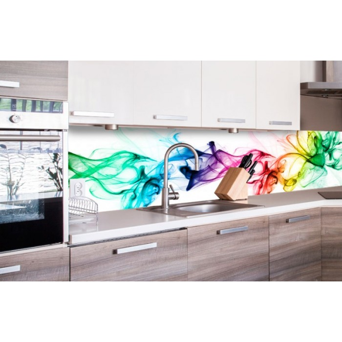Küchenrückwand Folie - Rauch 260 x 60 cm | dimex-line.de