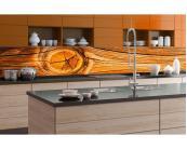 Kuchenruckwand Folie Holz Knoten 180 X 60 Cm Dimex Line De