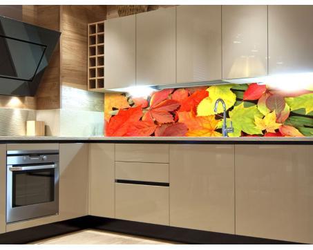 Küchenrückwand Folie   Blätter 180 X 60 Cm