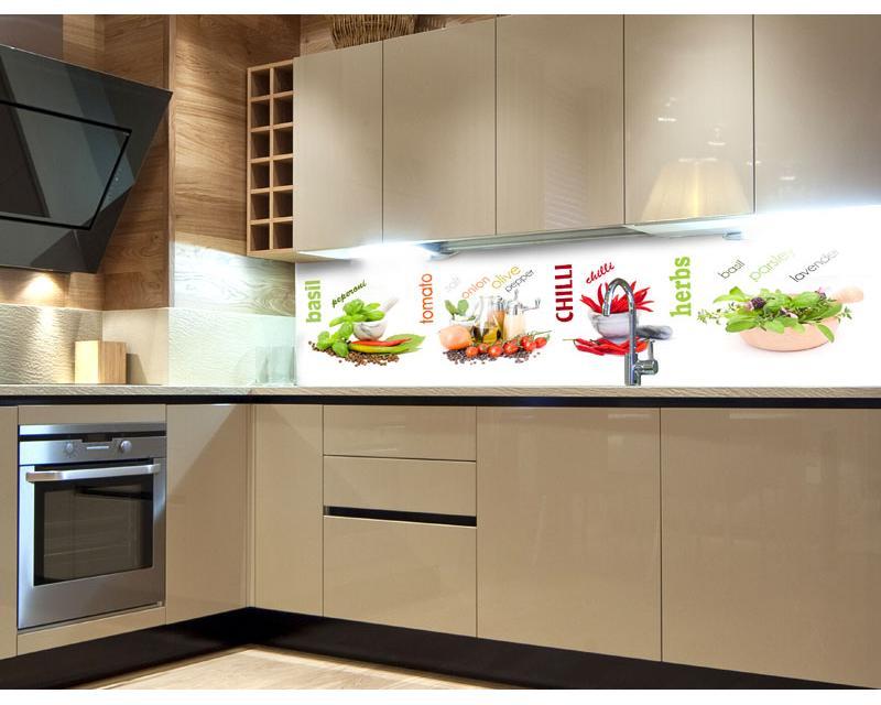 küchenrückwand folie gewürz 180 x 60 cm dimex line de