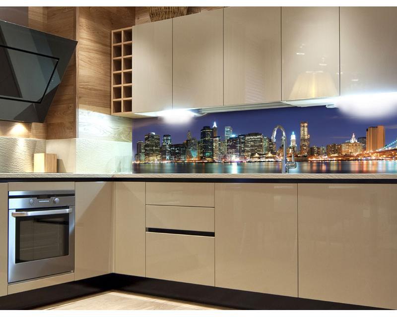 k chenr ckwand folie manhattan 180 x 60 cm dimex. Black Bedroom Furniture Sets. Home Design Ideas