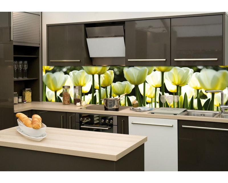 Spritzschutz kuche tulpen - Folie fur kuchenruckwand ...