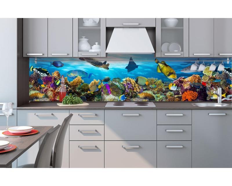 Küchenrückwand Folie Fische Im Ozean 260 X 60 Cm Dimex Linede