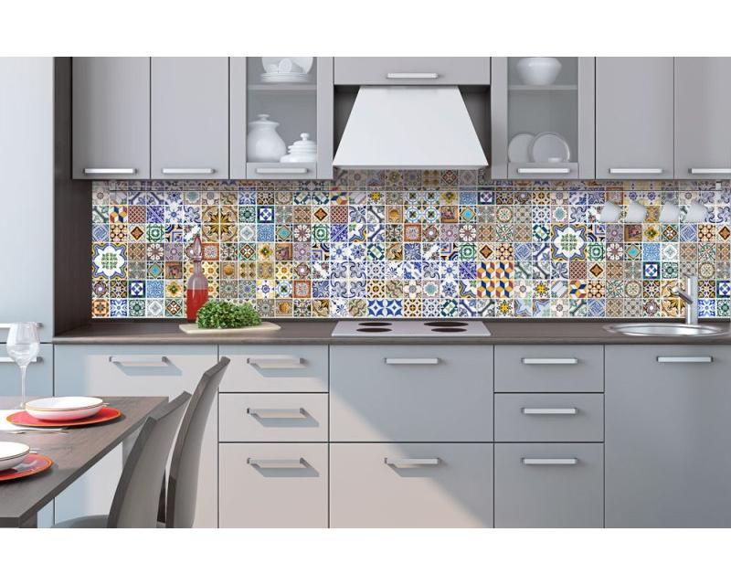 Küchenrückwand Folie - Portugiesische Fliesen 260 x 60 cm | dimex ...