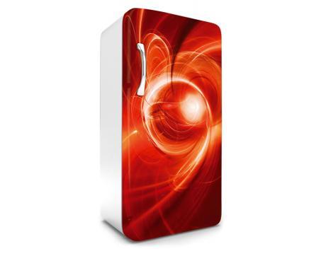 Kühlschrank In Rot : Kühlschrank aufkleber abstrakte malerei in rot cm