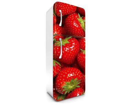 Retro Kühlschrank 180 Cm : Kühlschrank aufkleber erdbeeren 65 x 180 cm dimex line.de