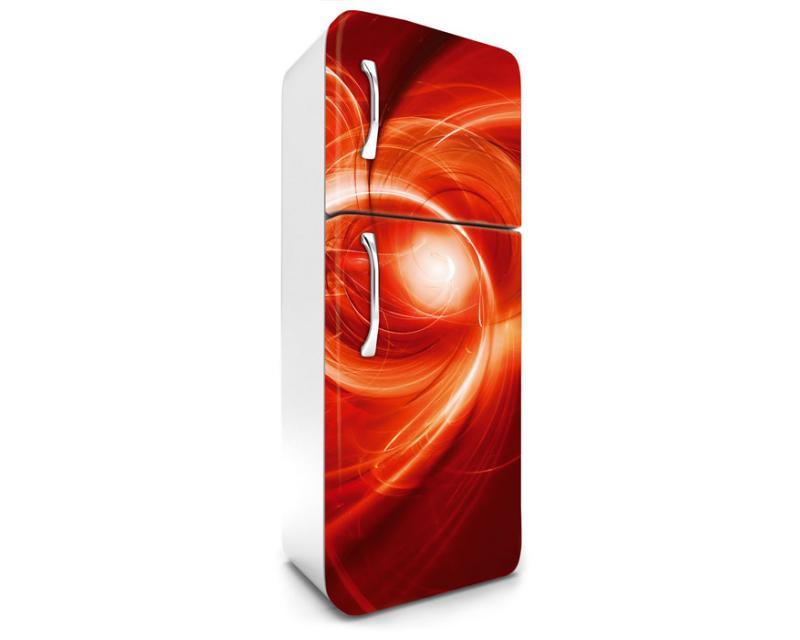 Kühlschrank Rot : Kühlschrank aufkleber abstrakte malerei in rot 65 x 180 cm dimex