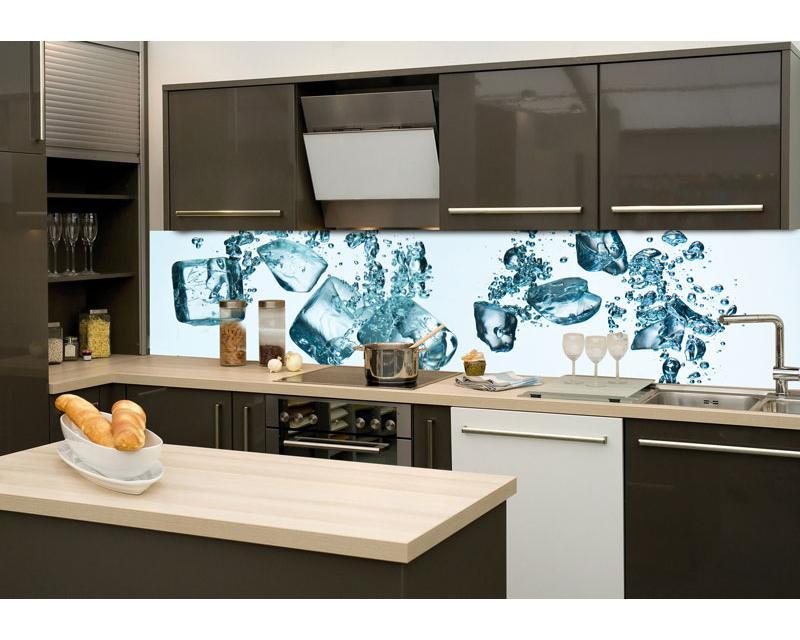 Küchenrückwand Glas - Eiswürfel | dimex-line.de